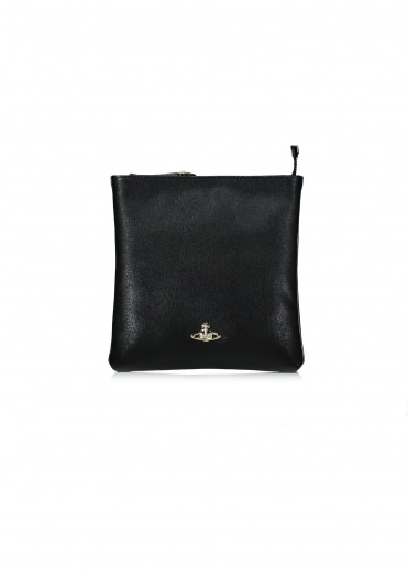 Saffiano Purse - Black
