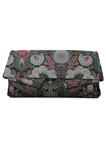 Large Jungle Clutch - Grey