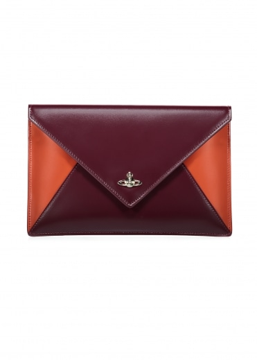 Private Pouch - Red / Orange