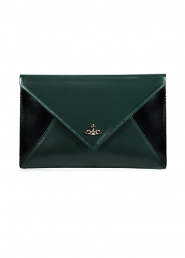 Private Pouch - Green / Black