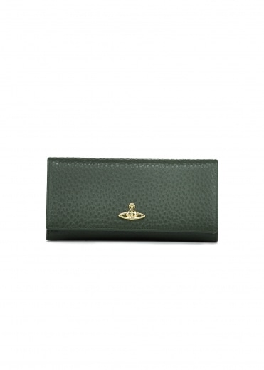 Belgravia Credit Card Holder - Green