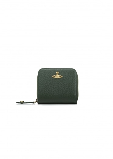 Belgravia Medium Zip Wallet - Green