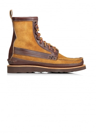Maine Guide Trimmed DB Boots - Brown