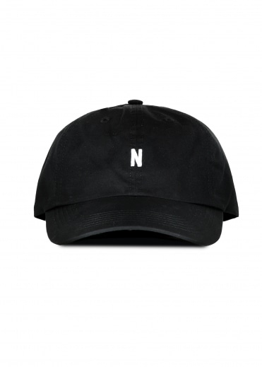 Norse Sports Cap - Black