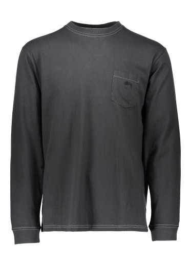 O'Dyed LS Pocket Tee - Black