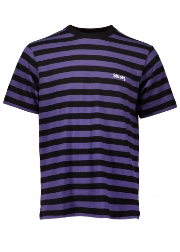 Baron Stripe Jersey - Purple