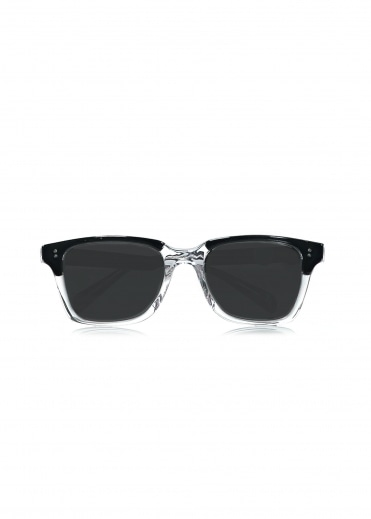 Angelo Sunglasses - Clear / Black