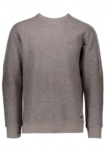 Bond Wool LS Crew - Brown