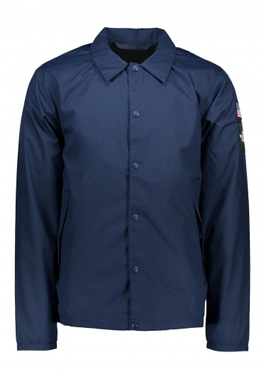 International Coaches Jacket - Cosmic Blue