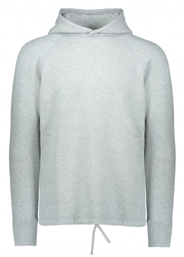 Knit Mesh Hoodie - Heather Grey