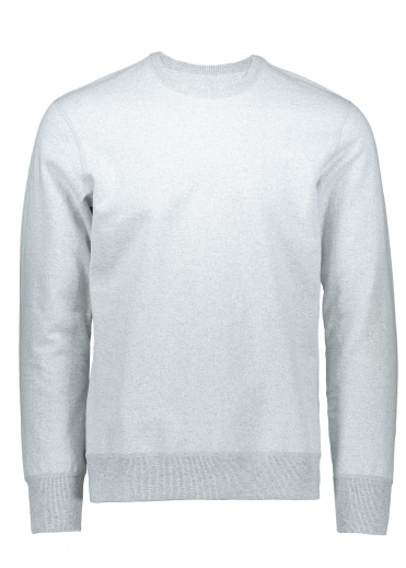 Terry Long Sleeve Crew - Chalk