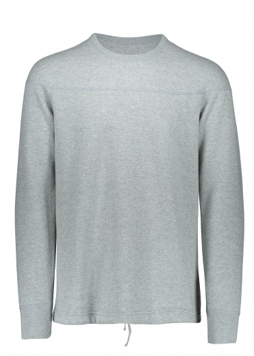 Double Knit Crew - Heather Grey