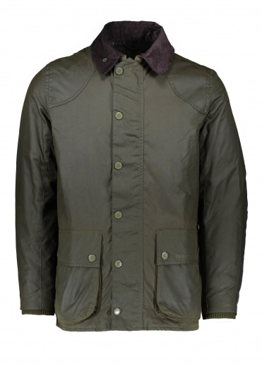 Digby Wax Jacket - Fern