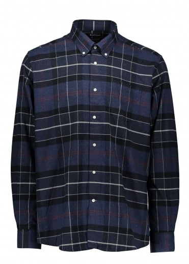 Lustleigh Shirt - Navy Marl