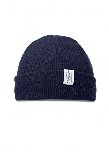 Lambswool Watch Cap - Navy