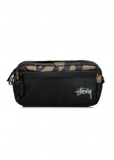 Stock Side Bag - Woodland Camo
