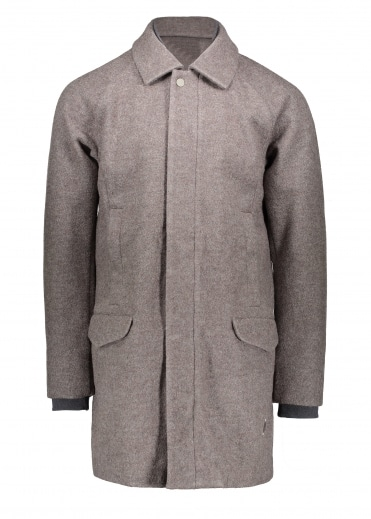 Water Repellent Coat - Simple Brown