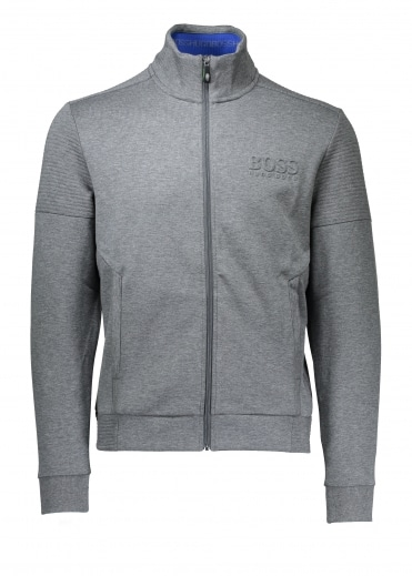 Skaz Track Top - Medium Grey
