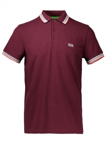 Paddy Polo - Dark Red