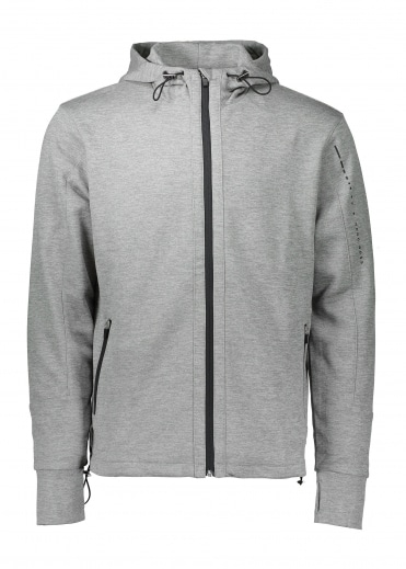 Hooded Jacket 034 - Medium Grey