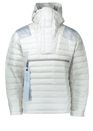 Day One Padded Jacket - Cream