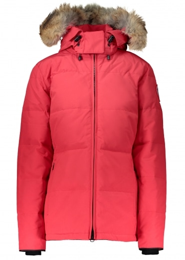 Chelsea Ladies Parka - Red