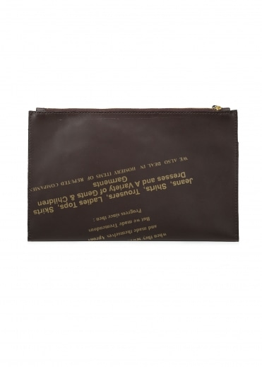 Leather Pouch - Dark Brown