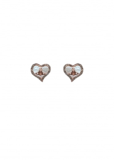 Petra Earrings - Pink Gold