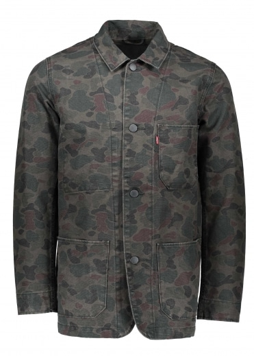 Engineers Coat 2.0 - Camo