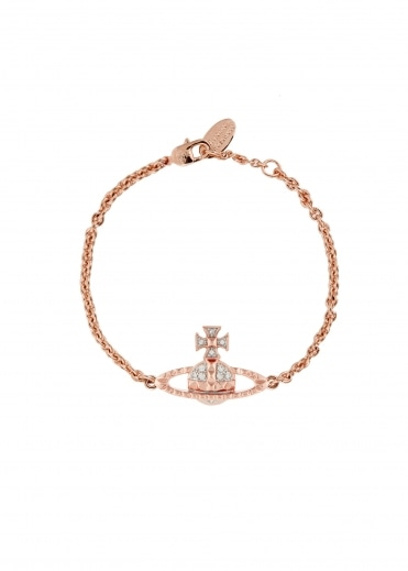 Mayfair Bas Relief Bracelet - Pink Gold