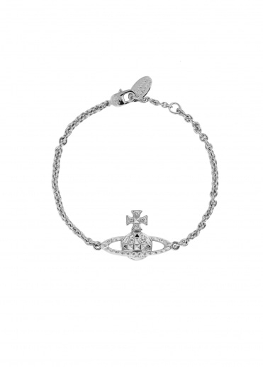 Mayfair Bas Relief Bracelet - Rhodium
