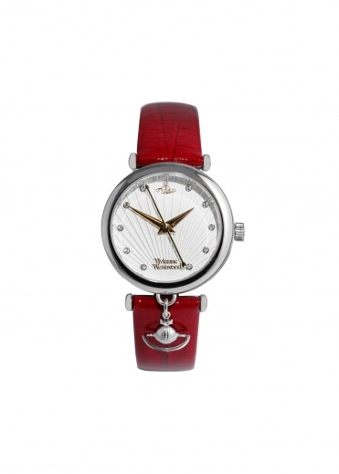 Trafalgar Watch - Red / Silver