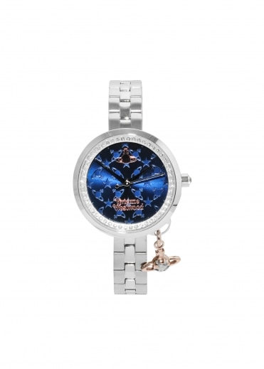 Bow II Watch - Navy / Silver