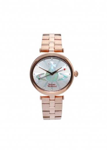 Belgravia Watch - Pink Gold