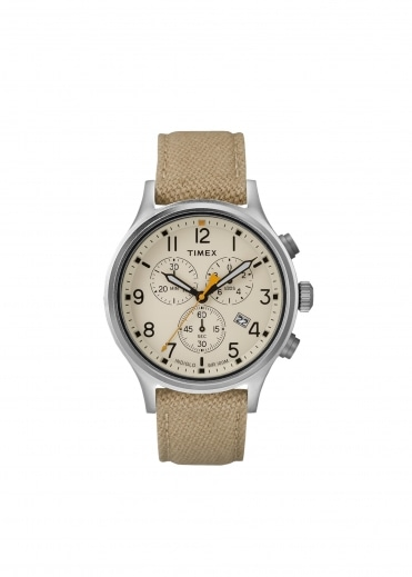 Scovill Chrono - Khaki / Natural