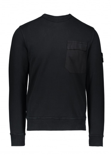 Pocket Sweater - Black