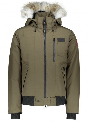 Borden Bomber Jacket - Military Green