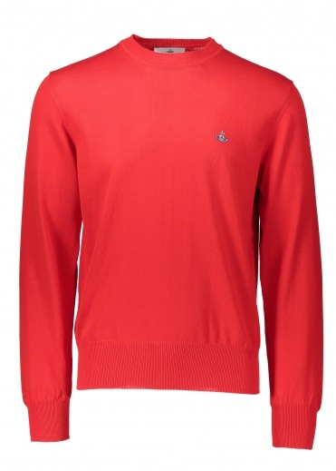 Roundneck Knit - Red