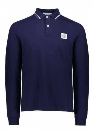 LS Badge Polo - Ink