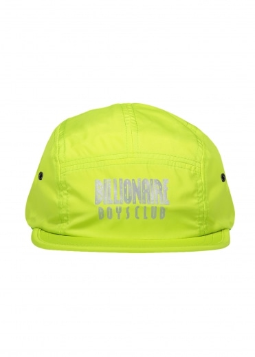 Reflective Logo 5 Panel Cap - Cyber Yellow