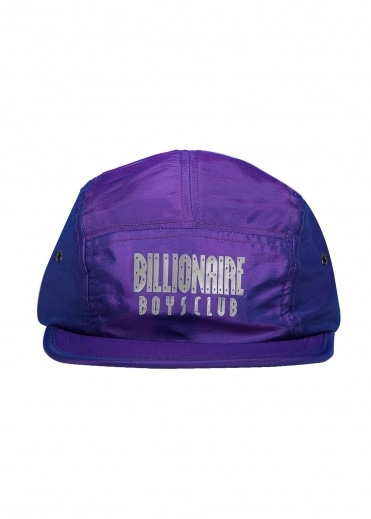 Reflective Logo 5 Panel Cap - Purple