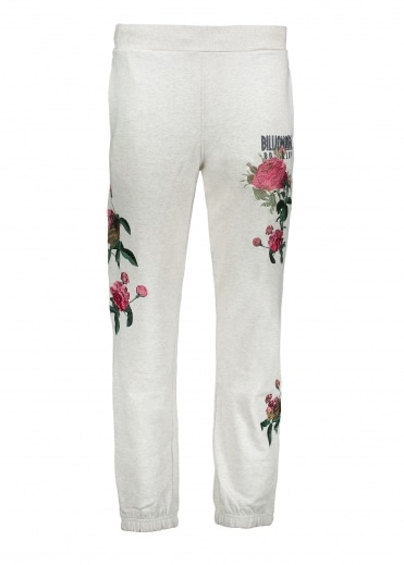 Embroidered Floral Pant - Oat