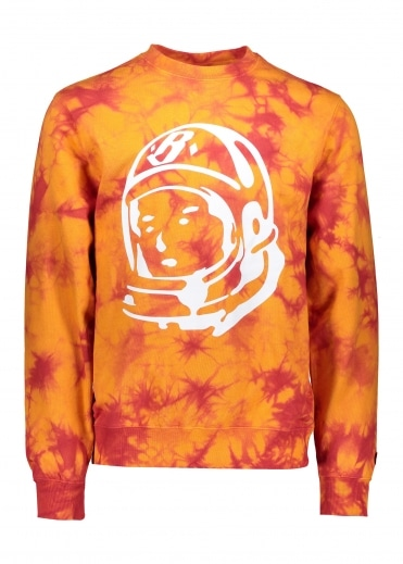 Bleached Logo Crewneck - Red