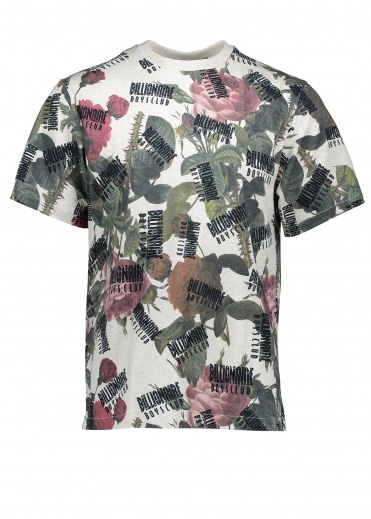 Floral All Over Print T-Shirt - Floral