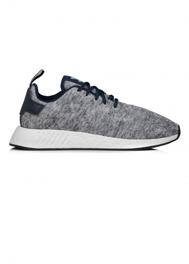 x United Arrows & Sons NMD R2 UAS - Heather / Silver / White