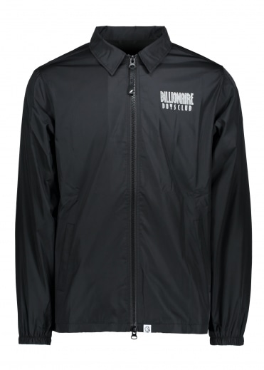 Zip Coach Jacket - Black