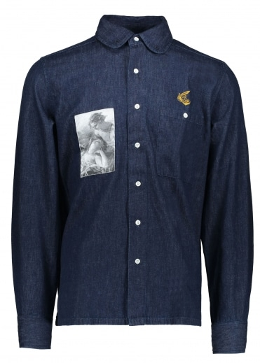 Anglomania Peter P. Shirt - Blue