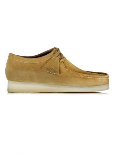 Wallabee - Olive Suede
