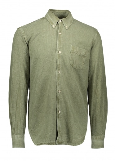 1950's Oxford Shirt - Olive