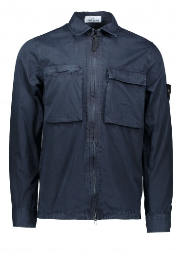 T.Co+ Old Overshirt - Navy Blue